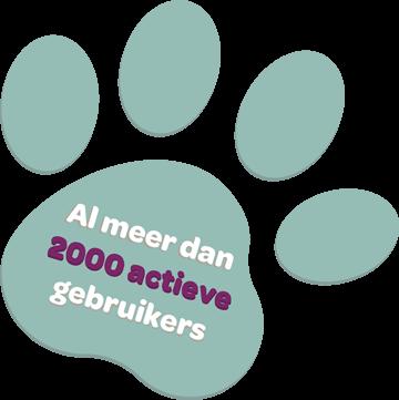 Al meer dan 2000 actieve gebruikers op Kwispelcoach
